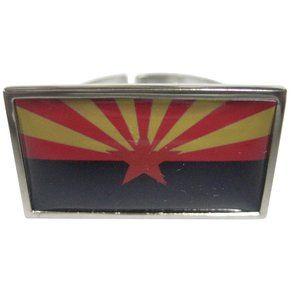 Arizona State Flag Fashion Ring